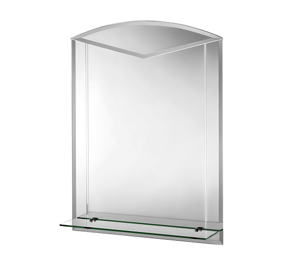Croydex Langdale Arch Mirror With Shelf 600 X 800mm - MM700600