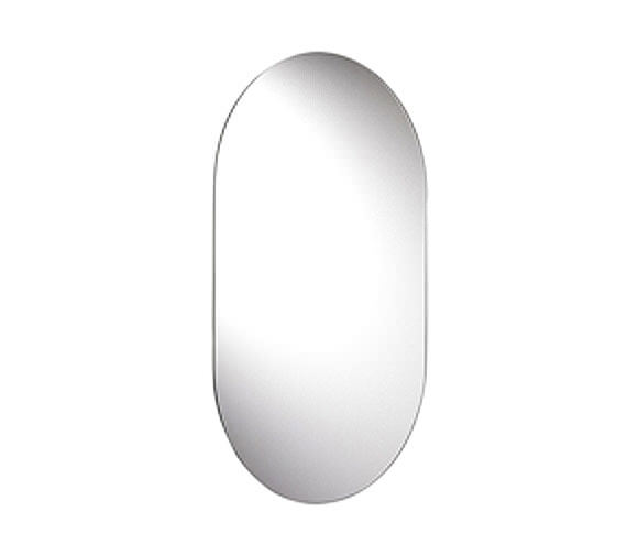 Croydex Harrop Rounded Rectangle Mirror 650mm x 400mm - MM701300
