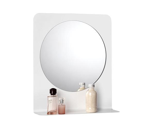 Croydex Lydden Mirror And Steel Shelf 450 x 515mm - MM701822