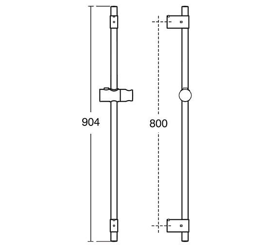 Technical drawing QS-V18316 / B9422AA
