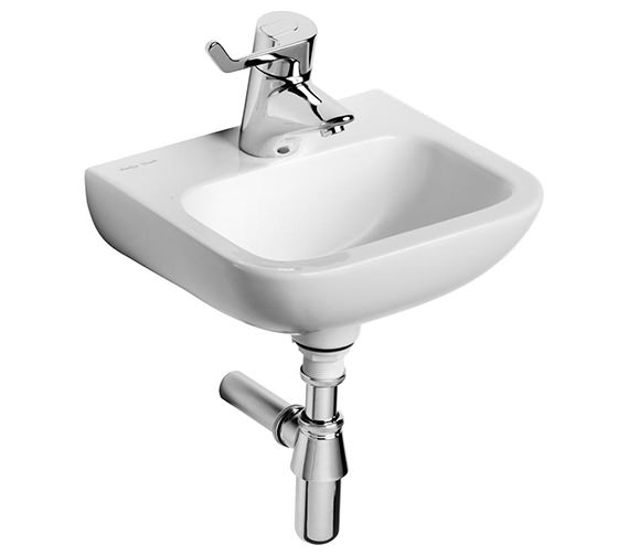 Armitage Shanks Contour 21 - Small Handrinse Washbasin 370mm - Centre Tap Hole