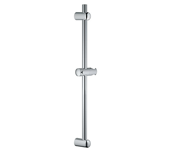 Grohe Euphoria 600mm Shower Rail With Glide Element And Swivel Holder