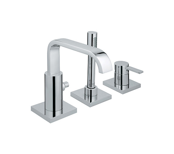 Grohe Spa Allure 3 Hole Single Lever Bath Combination - 19316000