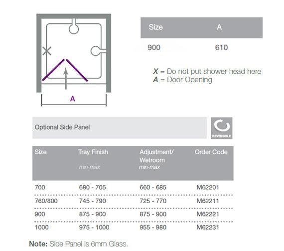 Technical drawing QS-V18540 / M67221 N