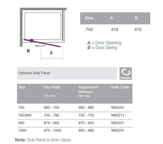 Technical drawing QS-V18542 / M61201