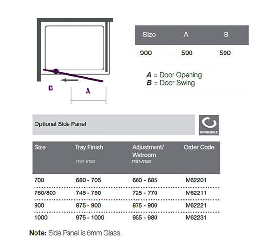 Technical drawing QS-V18544 / M61221