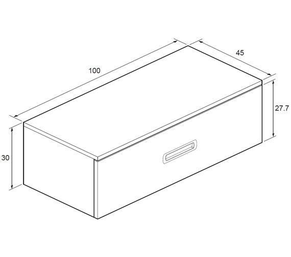 Technical drawing QS-V18615 / SA1000DEB
