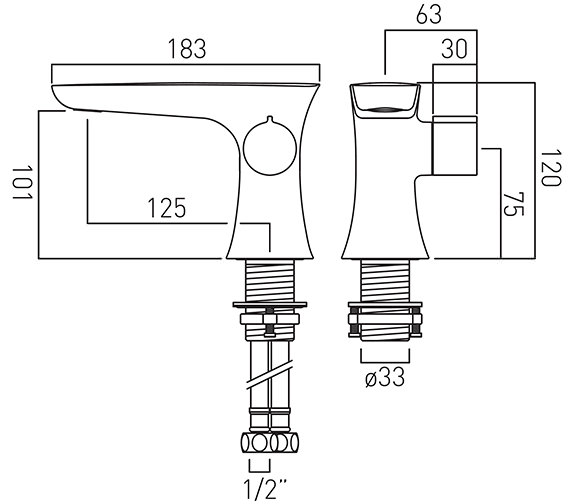 Technical drawing QS-V18632 / ALT-100/SB-C/P