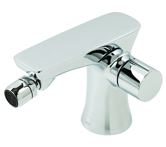Vado Altitude Mono Bidet Mixer Tap With Pop Up Waste Chrome