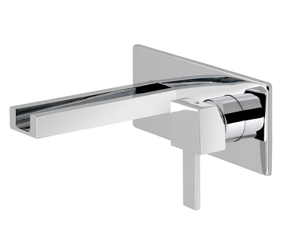 Vado TE Falls Wall Mounted 2 Hole Basin Mixer Tap