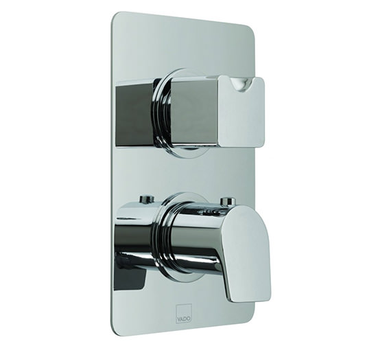 Vado Photon Concealed 2 Handle Thermostatic Valve With Diverter - 2 Outlet