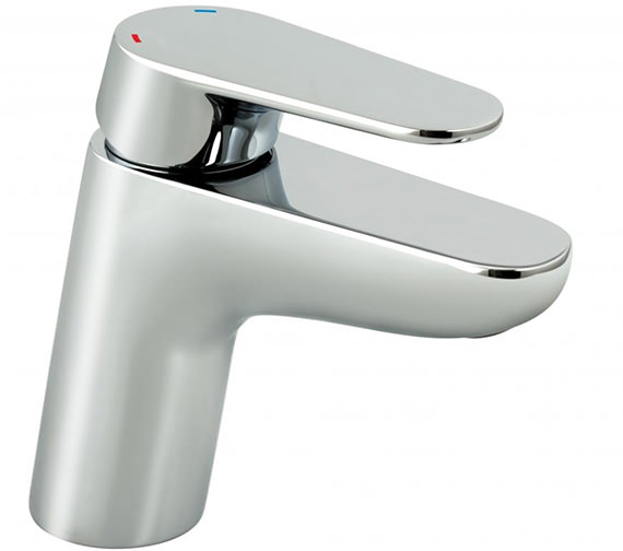 Vado Ascent Chrome Mono Basin Mixer Tap Without Waste