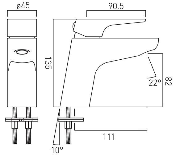Technical drawing QS-V18653 / ASC-100/SB-C/P