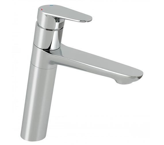 Vado Ascent Mono Kitchen Sink Mixer Tap With Swivel Spout