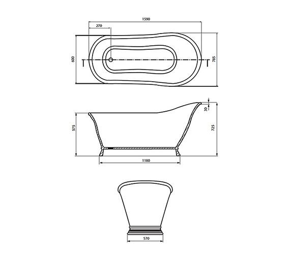 Technical drawing QS-V18808 / XN40000410