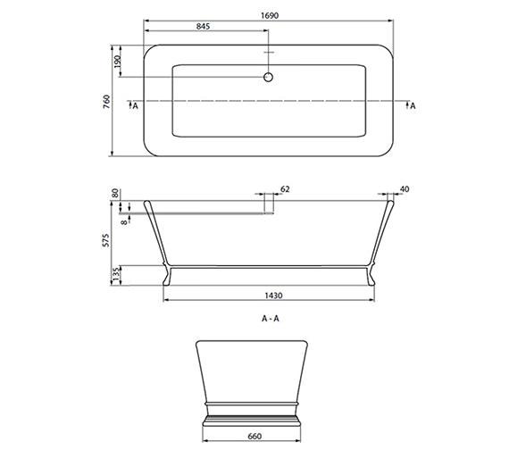 Technical drawing QS-V18809 / XN30000410
