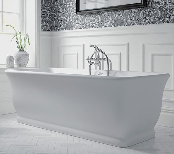Imperial Windsor Mortlake Freestanding Bath 1680 x 750mm - No Tap Hole