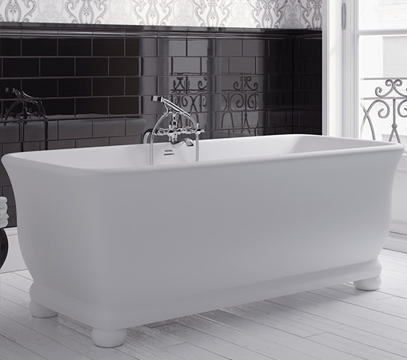 Imperial Windsor Putney Freestanding Bath 1680 x 750mm - No Tap Hole