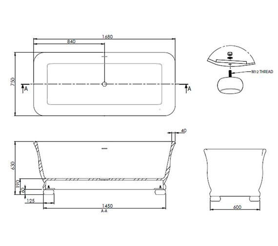 Technical drawing QS-V18813 / ZXN10000410