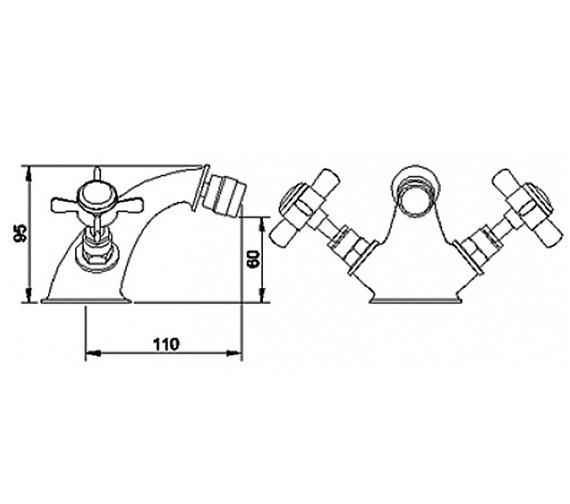 Technical drawing QS-V18816 / BEO-1746