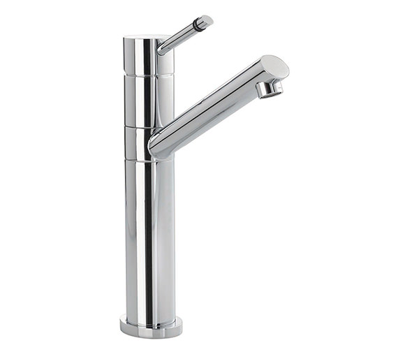 Rangemaster Ellipse Single Lever Kitchen Sink Mixer Tap Chrome