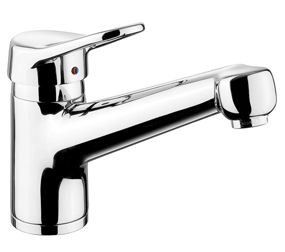 Rangemaster Aquaflow 4 Single Lever Kitchen Sink Mixer Tap Chrome