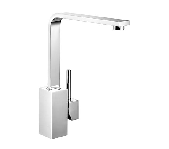 Rangemaster Quadrant Single Lever Kitchen Sink Mixer Tap Chrome - TQSL1CM