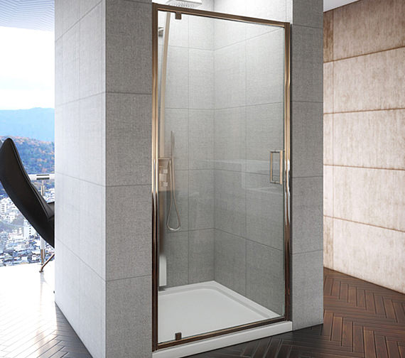 beo designer frameless pivot shower door 900 x 1850mm aq9313s