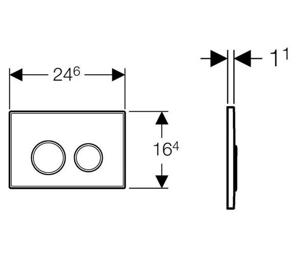 Technical drawing QS-V19171 / 115.882.KH.1