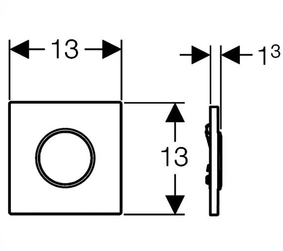 Technical drawing QS-V19188 / 116.015.KN.1