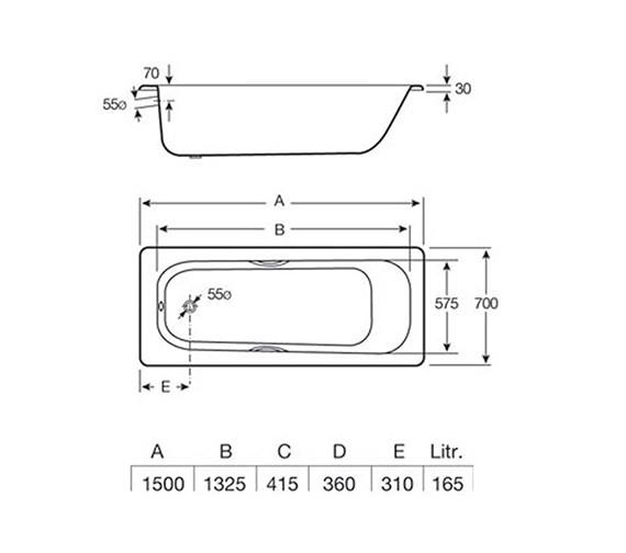 Technical drawing QS-V19239 / 2376M3000