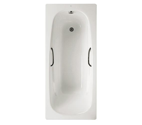 Roca Carla Eco Steel Bath 1700 x 700mm With Anti Slip - 2215L3000