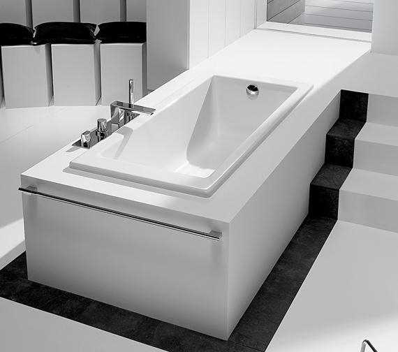 Roca Vythos Double Ended Luxurious Acrylic Bath 1700 x 800mm - 247701000