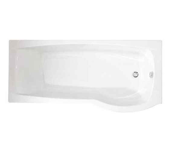 Roca Giralda Left Hand Acrylic Shower Bath 1700 x 800mm - 1235L2000