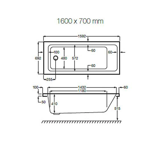 Technical drawing QS-V19261 / 024716000