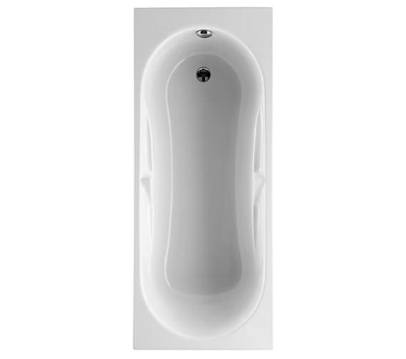 Roca Genova Single Ended Acrylic Bath 1700 x 700mm With Grips - 24749000
