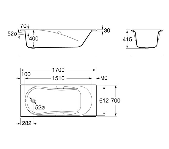 Technical drawing QS-V19269 / 024749000
