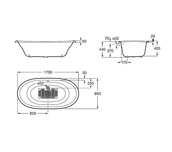 Technical drawing QS-V19270 / 233650007
