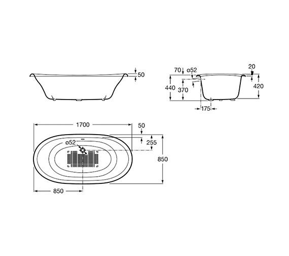 Technical drawing QS-V19271 / 233650000