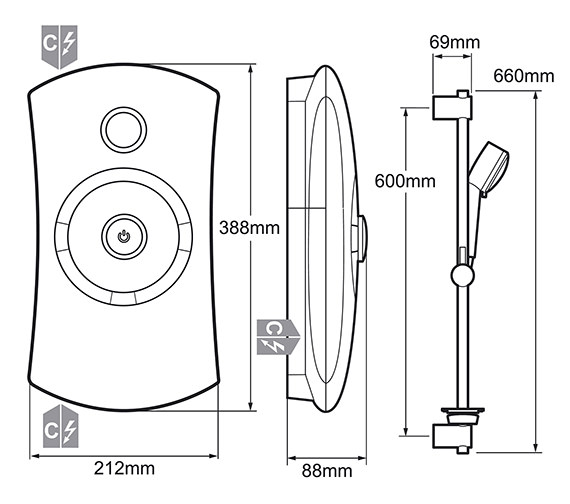 Technical drawing QS-V19317 / 1.1647.002
