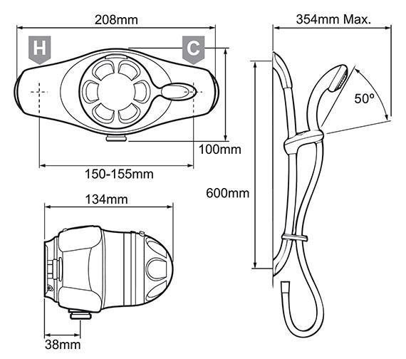 Technical drawing QS-V19319 / 1.1518.300