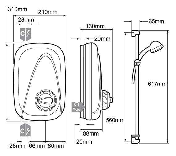 Technical drawing QS-V19333 / 1.1532.353