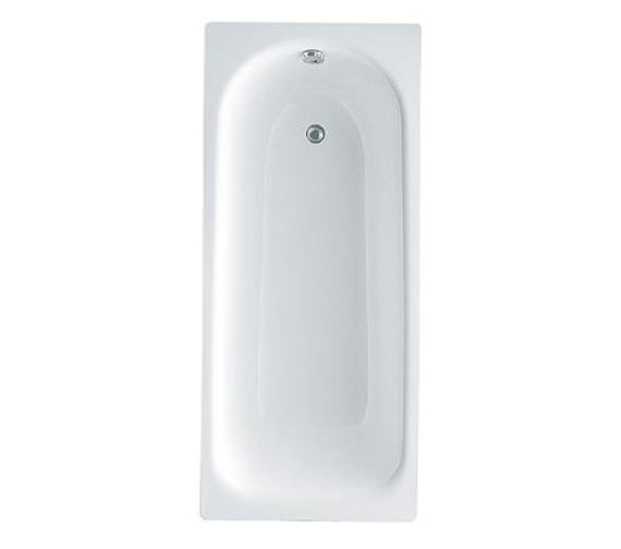 Kaldewei Eurowa Form-Plus 2 Tap Hole Steel Bath With Grips 1500 x 700mm