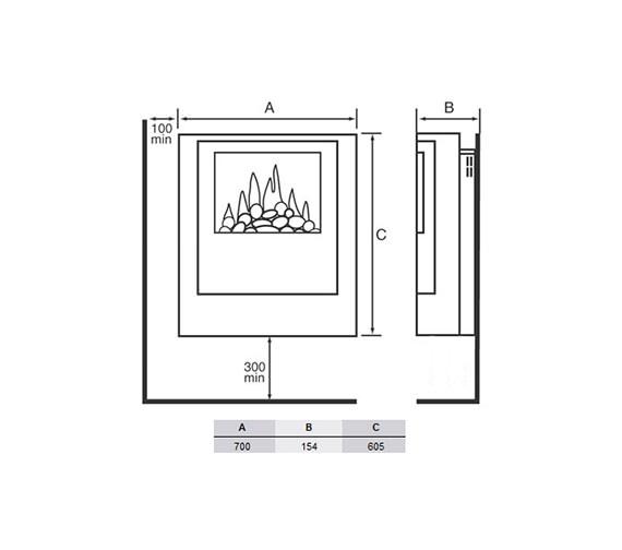 Technical drawing QS-V19452 / OBS20