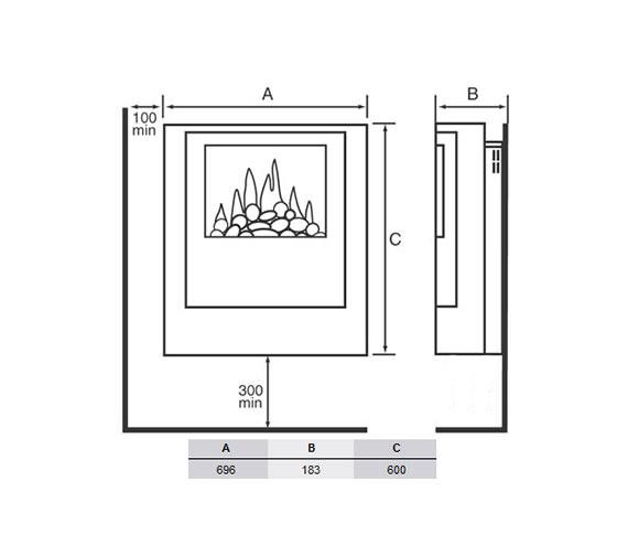 Technical drawing QS-V19455 / BCH20