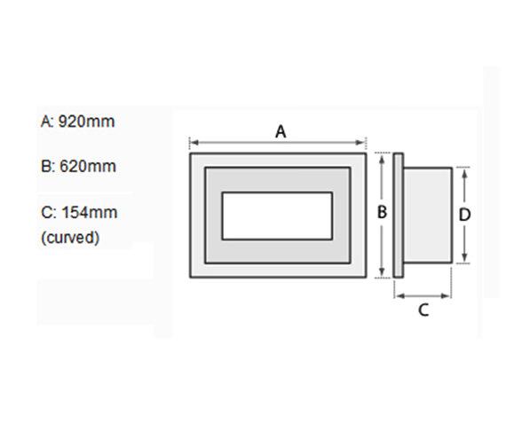Technical drawing QS-V19459 / 23809