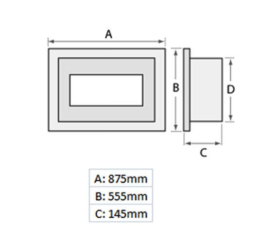 Technical drawing QS-V19461 / 70173