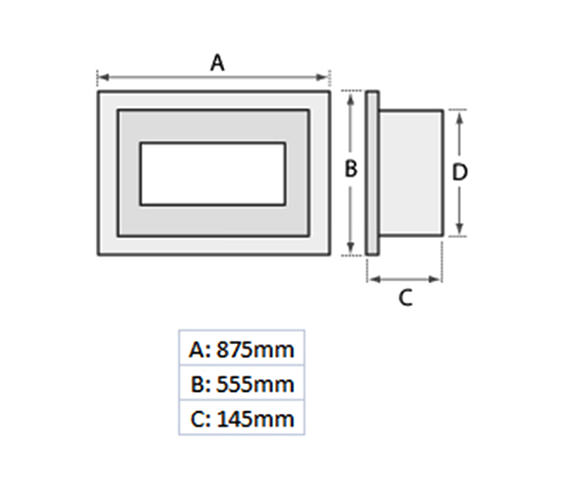Technical drawing QS-V19462 / 54593