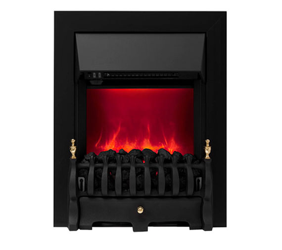 Be Modern Camberley Manual Control Inset Electric Fire Black 59569