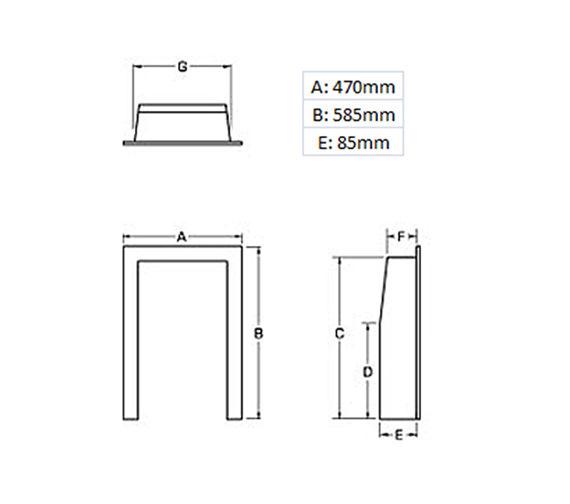 Technical drawing QS-V19464 / 59569